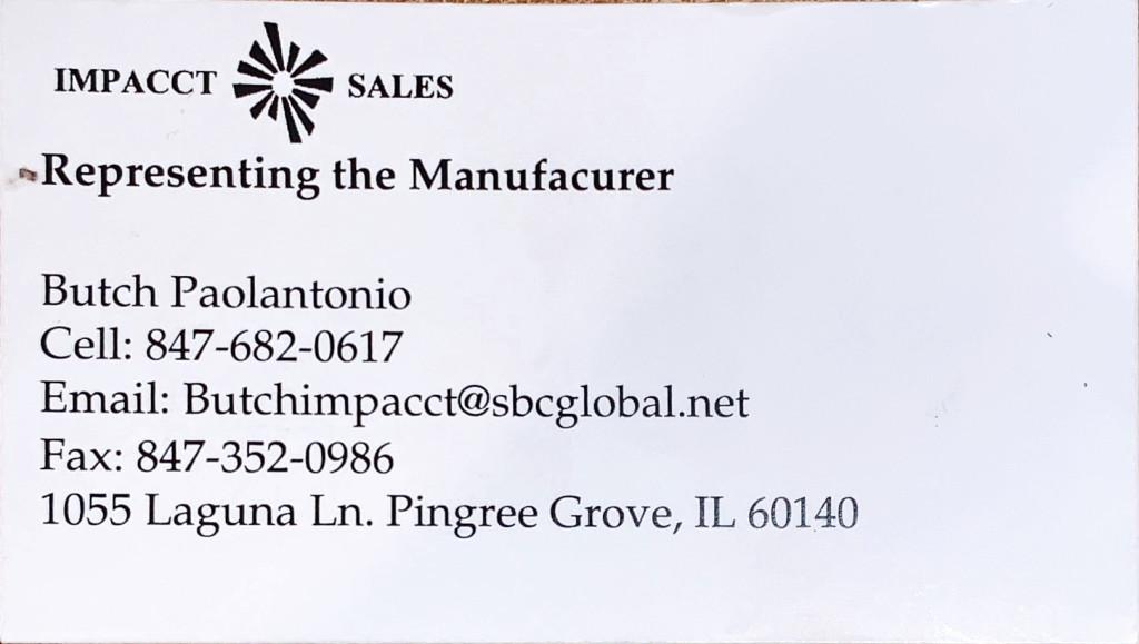impacct sales
